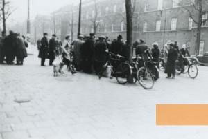 Street scene during Feb strike image